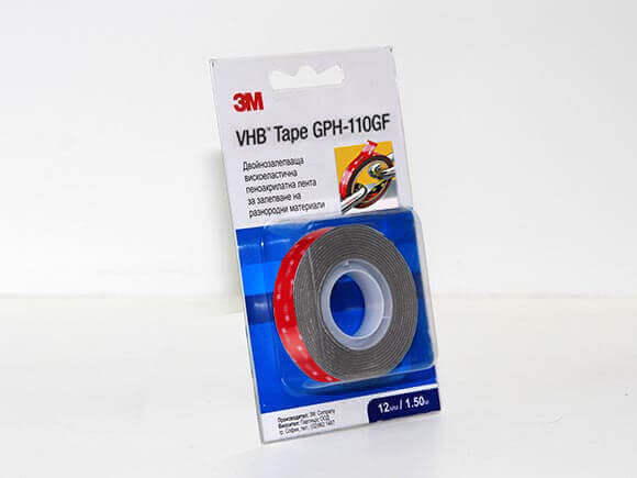 Double-sided car 3M molding tape 1.50m