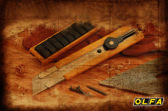 Макетен нож OLFA - виж историята в онлайн магазин Залепи БГ