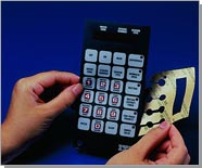 Bonding flexible tactile keyboards with 3M double-sided sheets with 200MP adhesive