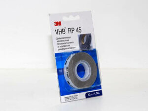 3M RP45 VHB Tape - double-sided car molding tape