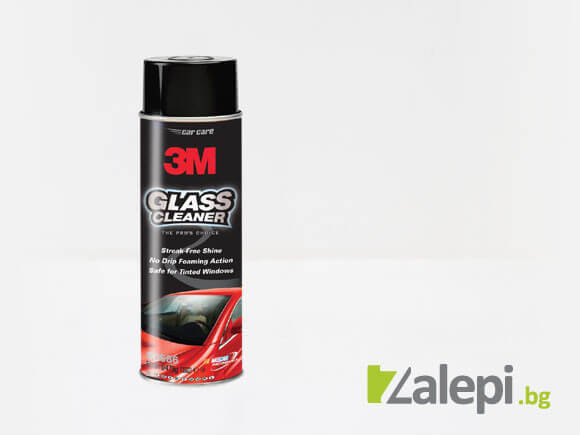 3M Glass Cleaner spray for a shiny look windows