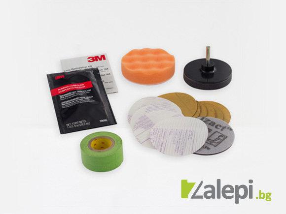 3M Care Care - Headlight Lens Restoration kit 39008