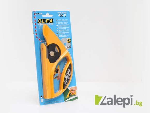 OLFA 45-C, макетен нож за рязане на настилки с режеща пластина RB45