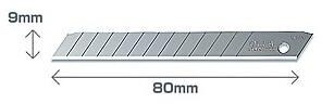 Olfa AB резервни резци за макетни ножове OLFA
