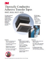 3M 8800 series Thermal Tapes Flyer, pdf