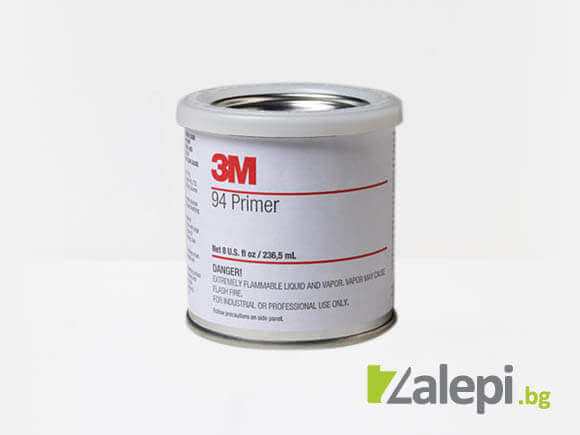 3M Primer 94 for increasing the strength of bonding - tapes, sel-adhesive films
