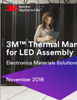 3M Thermal Materials for LED Assembly - PDF Brochure