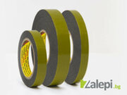 Double sided tape 3M 9520B with acrylic adhesive on polyethylene foam carrier