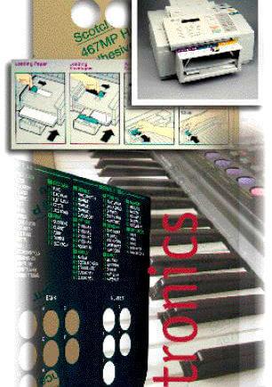 3M 7945 MPL двустранно лепящи листове за електрониката