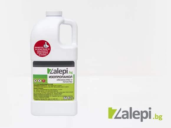 Изопропанол – почистваща течност (разфасовка от 2л)