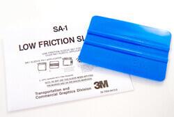 3M PA-B Син апликатор и предпазни джобчета против надраскване на фолио