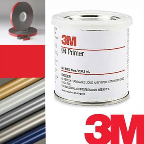 3M Primer 94 promotes the adhesion of tapes and films