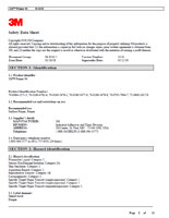 PDF Safety Data sheet of 3M Primer 94