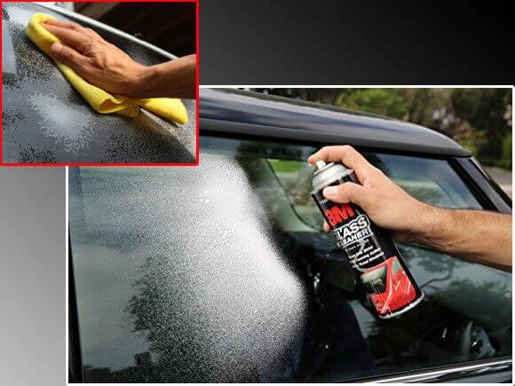 Микрофибърна кърпа 3m за почистване на хромирани, стъклени и пластмаси части по автомобила