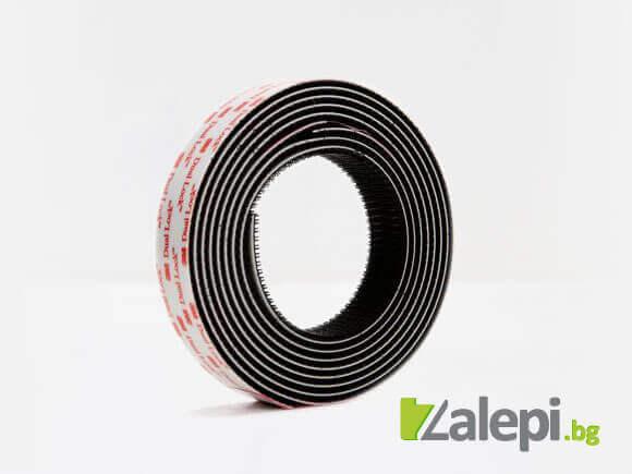 3M Dual Lock TB3550 - black reclosable fastener