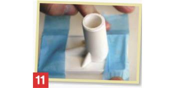 Как се лепи полиетилен - стъпка 11