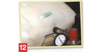 Как се лепи полиетилен - стъпка 12