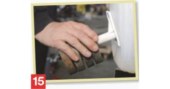 Как се лепи полиетилен - стъпка 15
