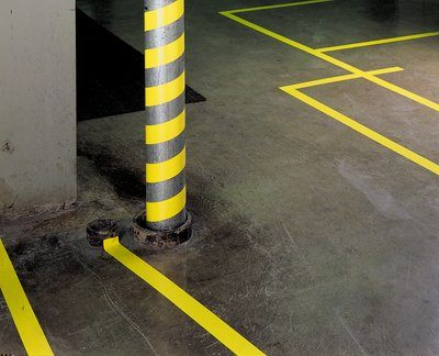 3M Vinyl Tape 471- yellow safety markings
