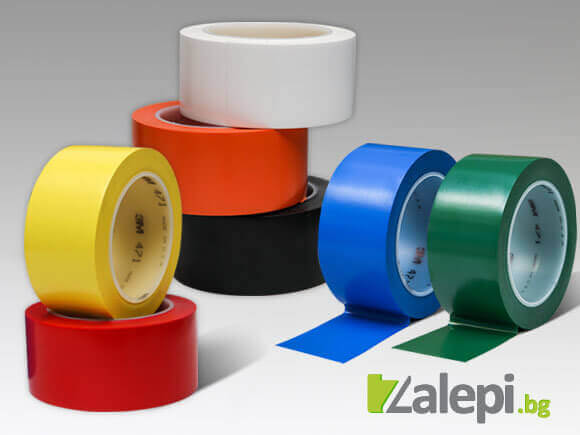 Floor marking tapes from 3M 471 tape series
