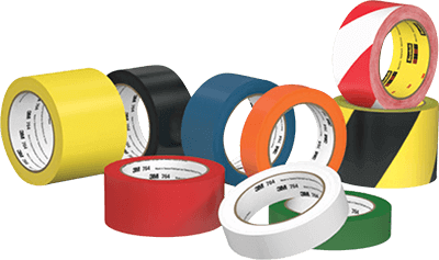 3M Industrial markin tapes for safety identification on floor, walls and facilities marking