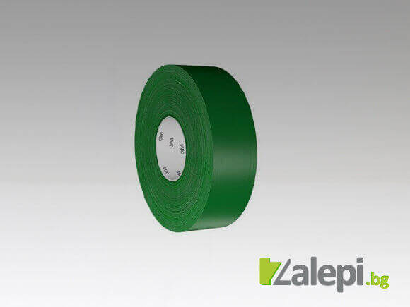 3M 971 Ultra Durable Floor Tape - зелена