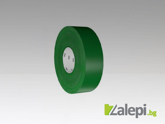 3M 971 Ultra Durable Floor Tape - зелена