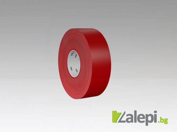 3M 971 Ultra Durable Floor Tape - червена