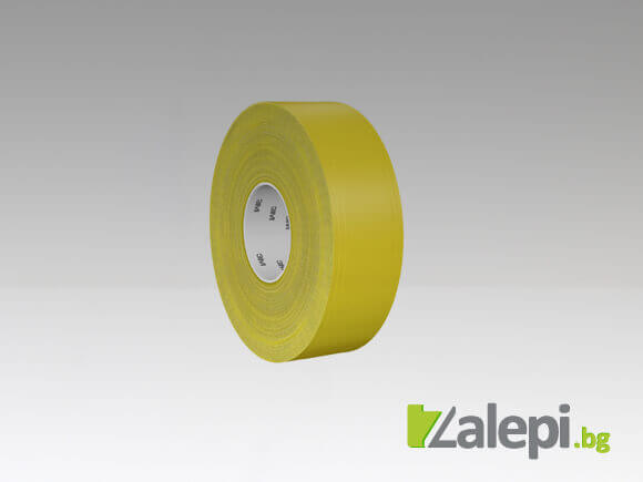 3M 971 Ultra Durable Floor Tape - жълта
