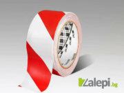 3M 767 Hazard Warning Tape, червено-бяла маркираща лента, с предупреждаваща функция