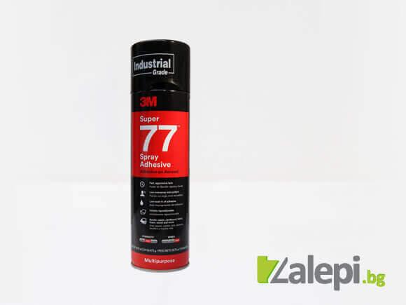 3M Super 77 Spray adhesive - многофункционално лепило на спрей