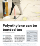 Polyethylene can be bonded too - PDF File