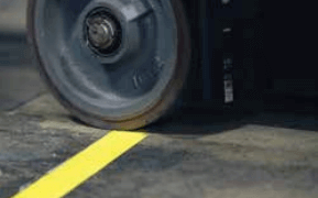 Durable and lasting marking tapes - 3M 971 Floor Tapes