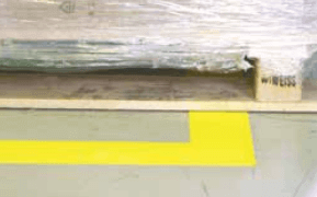 Highly resistant marking tape - 3M 971 Floor Tapes