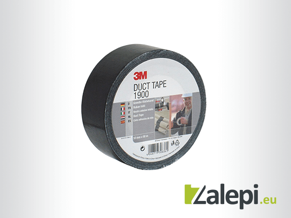 3M Value Duct Tape 1900, Black
