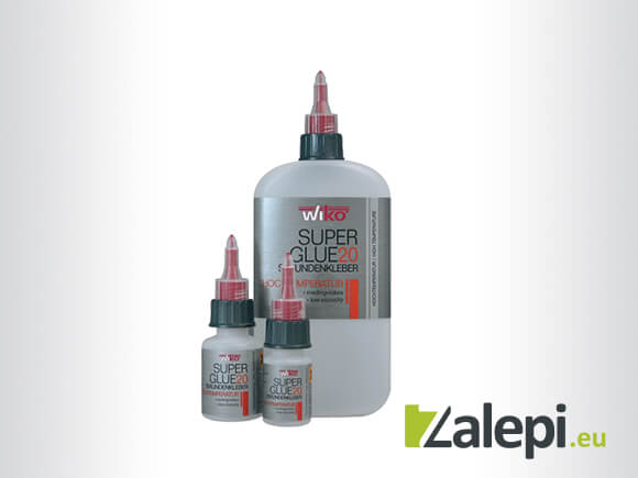 Wiko Super Glue HT - Течно секундно лепило за високи температури