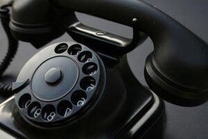 Бакелит, използван за създаването на първите телефони