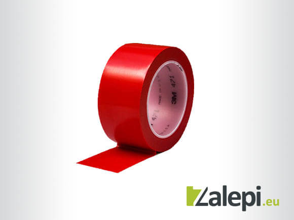 3M Vinyl Tape 471 - floor marking tape, red