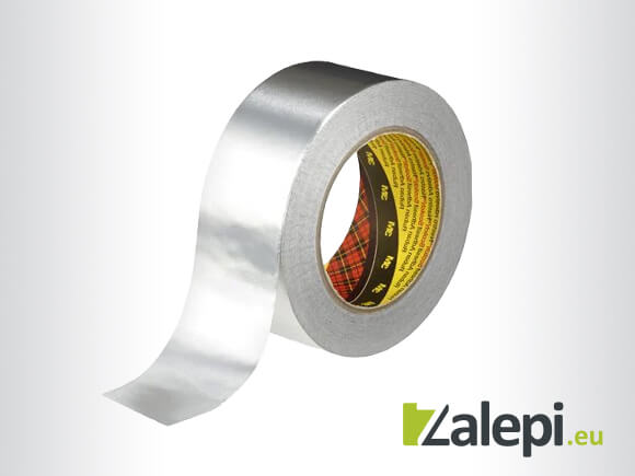 3M Aluminum Foil Tape 1436 – алуминиева лента, подходяща за климатици, 55м